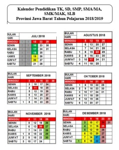 Kaldik Jabar 2018-2019